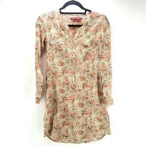 Comptoir Des Cotonniers  Floral Tunic Sz M